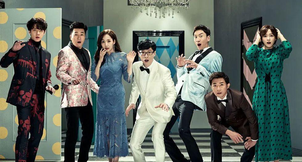 """Los protagonistas de """"Busted!"""" son figuras de la farándula de Corea del Sur. (Fuente: Netflix)"""