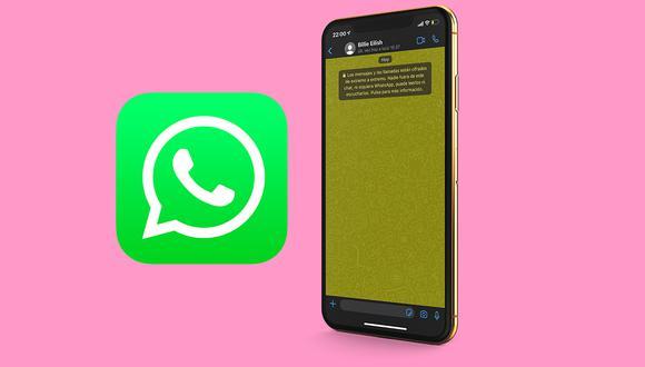 Conoce cómo cambiar el color de la pantalla de WhatsApp ahora mismo. (Foto: MAG)