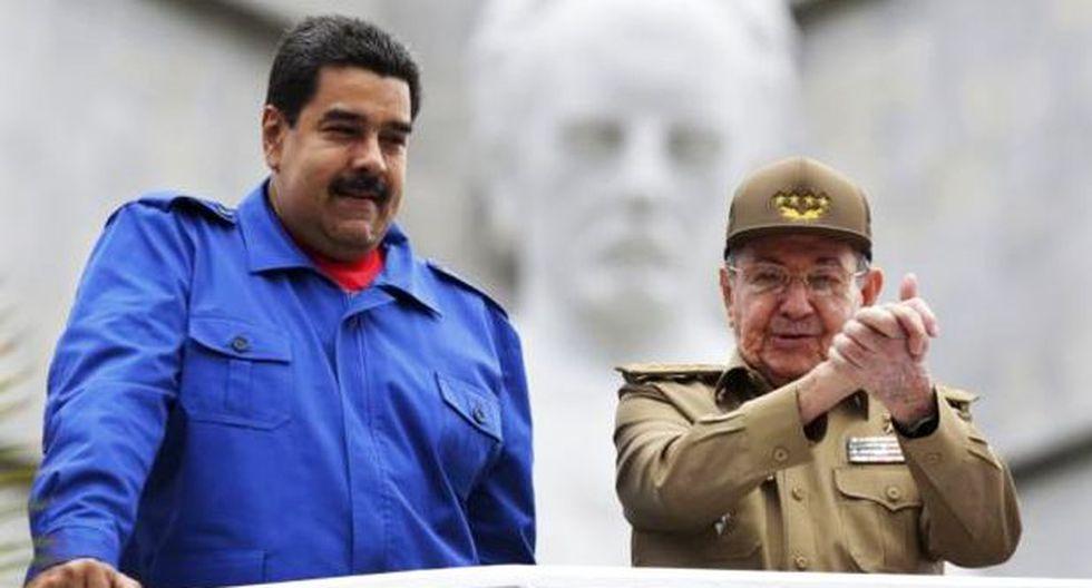 """Raúl Castro consoló a Maduro: """"Vendrán nuevas victorias"""""""