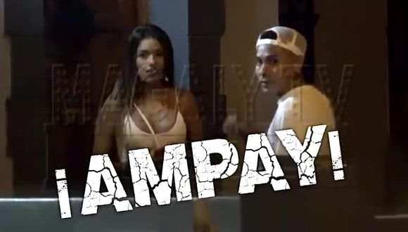 """Jean Deza es 'ampayado' por """"Magaly TV, la firme"""" junto a Shirley Arica. (Foto: ATV)"""