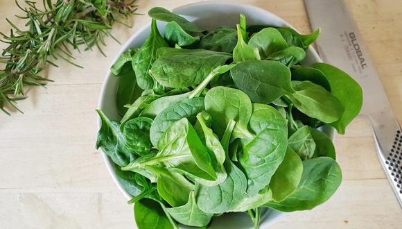 Las espinacas son una verdura muy nutritiva y saludable que conviene comer seguido. (Foto: Pixabay)