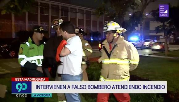 Alejandro Zumaeta fue trasladado a la comisaría de La Victoria para las investigaciones correspondientes del caso. (Latina)