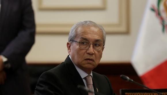 El suspendido fiscal supremo Pedro Chávarry también viene siendo investigado por el Caso Los Cuellos Blancos del Puerto. (Foto: Anthony Niño de Guzmán / GEC)