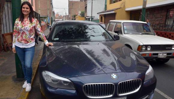 Surco: recuperan auto robado a periodista Daniela Cilloniz