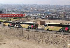 Más de 90 personas varadas en Lima llegaron a Tacna y quedan 500 por trasladar