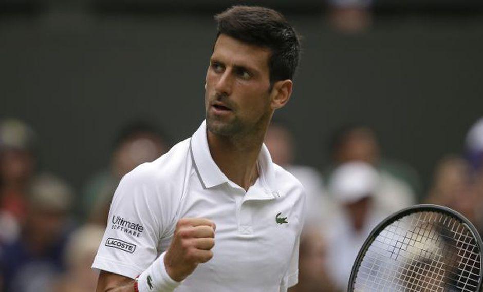 Djokovic vs. Goffin: se midieron en Wimbledon 2019. (Foto: AP)