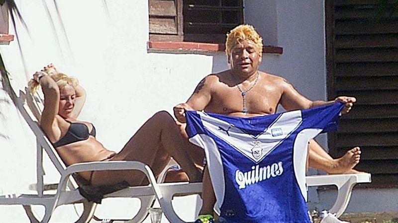 Maradona vivió durante cinco años en Cuba para rehabilitarse de su adicción. (Getty Images).