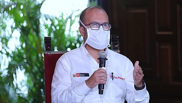 Zamora explicó el proceso de compras de pruebas moleculares y rápidas para el descarte del coronavirus (Foto: Presidencia).