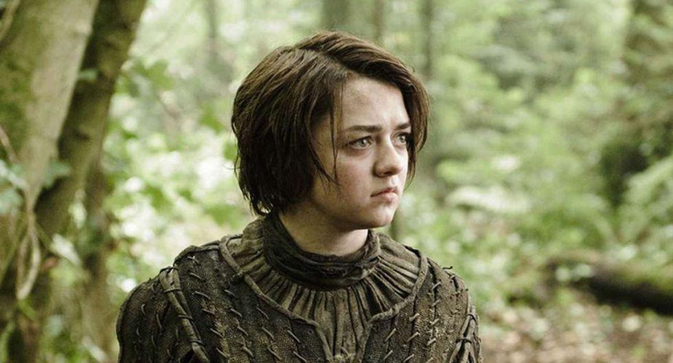 Maisie Williams es Arya Stark en Game of Thrones. (Foto: HBO)