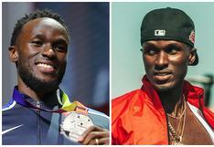 El atleta olímpico de EE.UU. que aprovechó la pausa por la pandemia para incursionar en el rap
