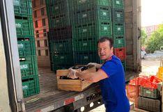 Dunga recolectó 10 toneladas de alimentos para donar a los afectados por el coronavirus | VIDEO