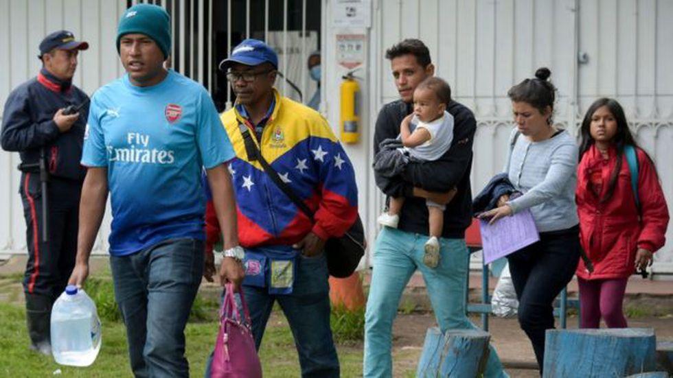 La crisis migratoria de Venezuela se está haciendo sentir en toda América Latina.