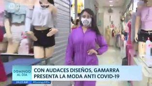Gamarra presenta la moda anti COVID-19