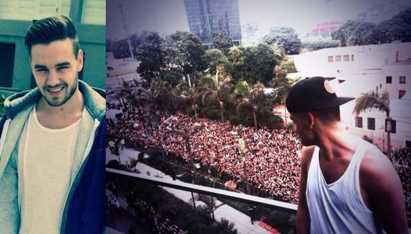 Liam Payne se convirtió en TT global tras llegar al Perú