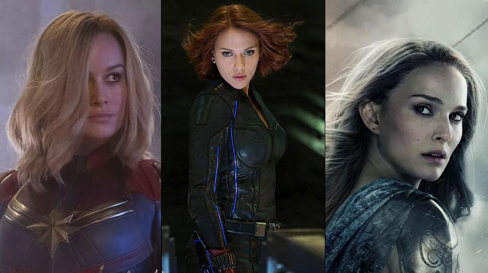 Aquí una recopilación de las heroínas del Universo Cinemático de Marvel. (Foto: Marvel Studios)