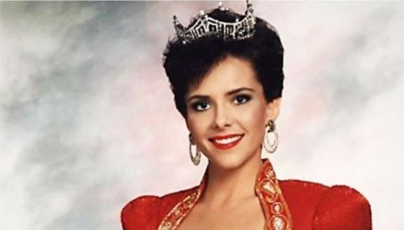 Leanza Cornett, cuando fue coronada Miss América 1993. (Foto: @misamerica)
