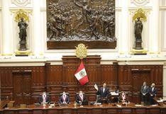 Voceros de cuatro bancadas se pronuncian tras el rechazo del Congreso a la vacancia de Vizcarra