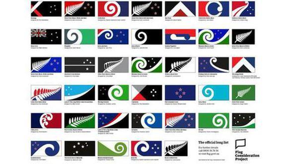 ¿Será uno de estos diseños la bandera más joven del mundo?