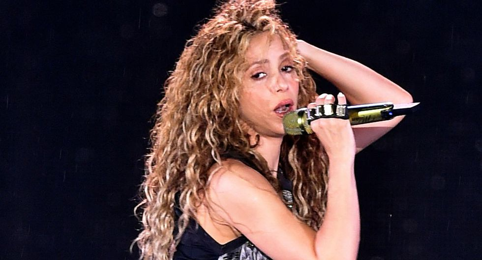 Shakira demuestra su lado más deportivo y revela que está entrenando para la Copa Davis de Madrid. (Foto: AFP)