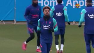 Barcelona se prepara para jugar contra Cornellà por la Copa del Rey