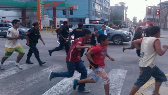 Más de 40 barristas fueron intervenidos en VMT
