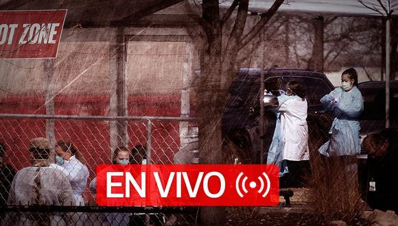 Coronavirus en Estados Unidos EN VIVO | Sigue EN DIRECTO las últimas noticias y las cifras actualizadas de casos confirmados y muertos por la pandemia Covid-19 en USA, hoy jueves 04 de Junio de 2020. (Foto: Diseño El Comercio)