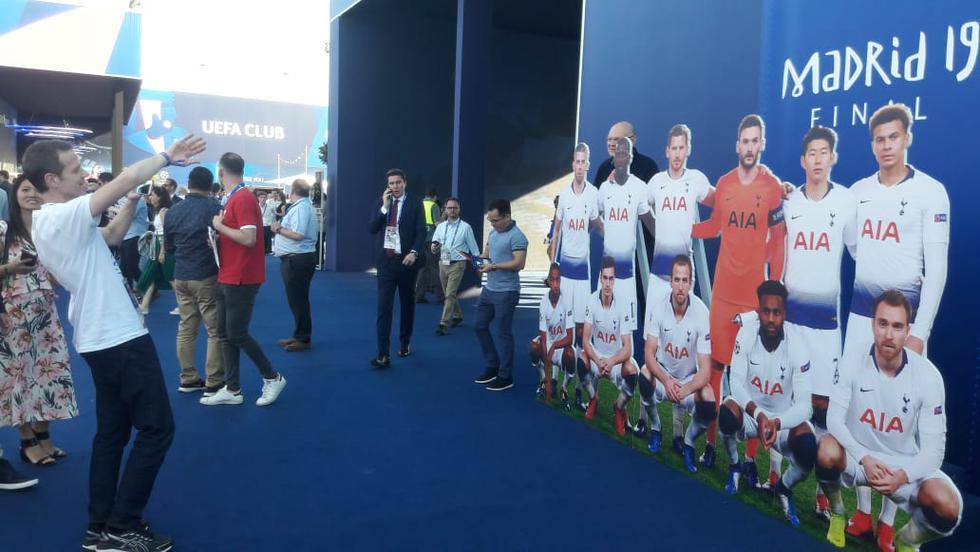 Así se palpita en Madrid la final de la Champions League entre Liverpool y Tottenham. (Foto: Miguel Villegas)