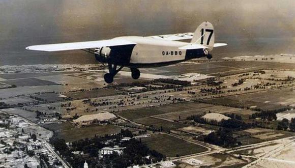 El aeropuerto de Limatambo fue inaugurado en 1935 en San Isidro. Dejó de operar en 1964. (FOTO: Gonzalo Seoane).