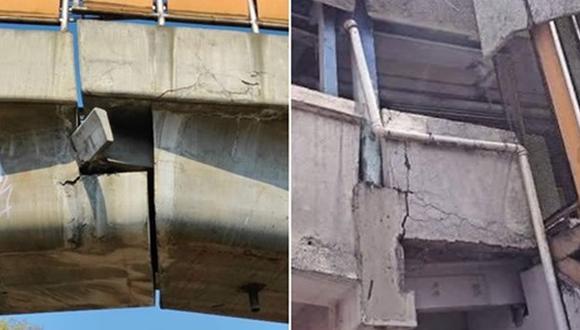 Luego del colapso de un tramo de la Línea 12 del Metro de Ciudad de México, usuarios de redes sociales señalan que hay tramos en Oceanía y Pantitlán que generan alarma.