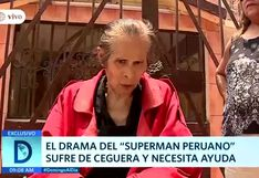 'Superman peruano' y su lucha contra la ceguera