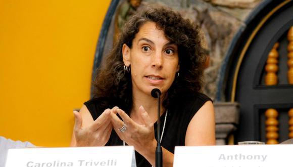 Carolina Trivelli ocupó el cargo de Ministra de Desarrollo e Inclusión Social entre octubre del 2011 y julio del 2013. (Foto: IEP)