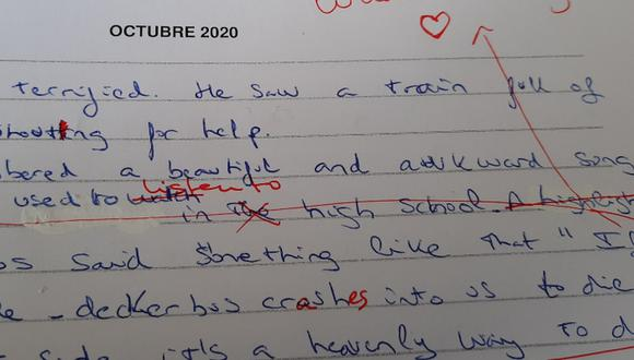 La singular respuesta de una alumna impactó a su profesor y a miles de usuarios de las redes sociales. (Foto: @migueldherrer81 / Twitter)