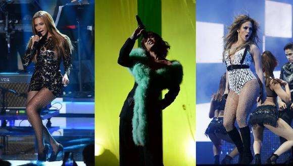 Beyoncé, Rihanna y Jennifer López (Foto: Agencias)