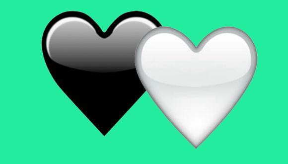 ¿Sabes realmente qué es lo que significa el corazón blanco y el corazón negro de WhatsApp? (Foto: WhatsApp)
