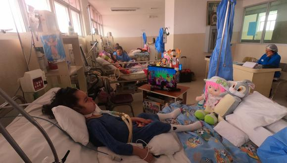 Actualmente son 15 los menores con ventilación mecánica invasiva que viven en el INSN de Breña. Todos han pasado más de la mitad de sus vidas ahí. Algunos conocen, como mucho, a cinco parientes (Foto: Alessandro Currarino).