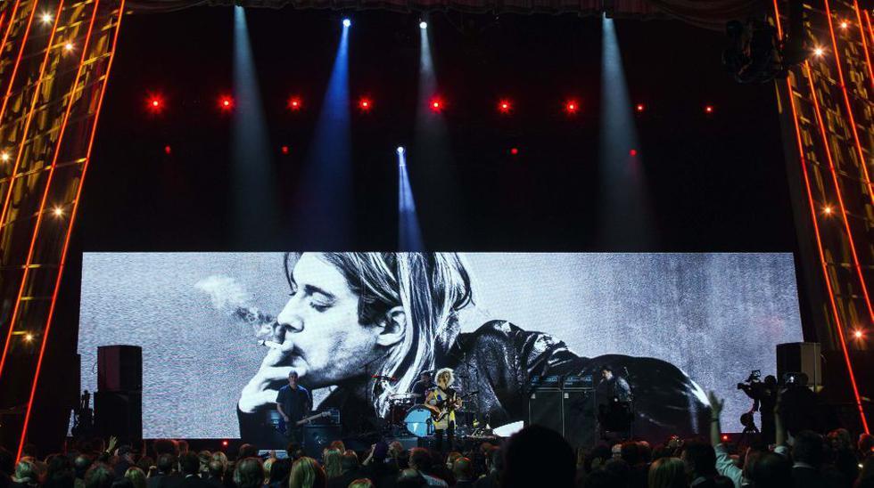 La noche de Nirvana y Kiss en el Salón de la Fama del Rock - 11