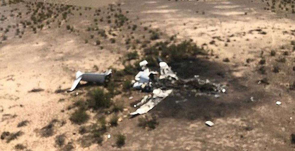 Coahuila: Encuentran en México los restos de un avión privado que desapareció cuando volaba desde Las Vegas a Monterrey. (EFE).