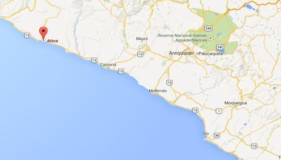 Temblor de 5,7 grados se sintió esta mañana en el sur del país