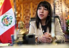 """Mirtha Vásquez: """"Solo tenemos la declaración [jurada] de 102 congresistas"""" que afirman no haberse vacunado"""