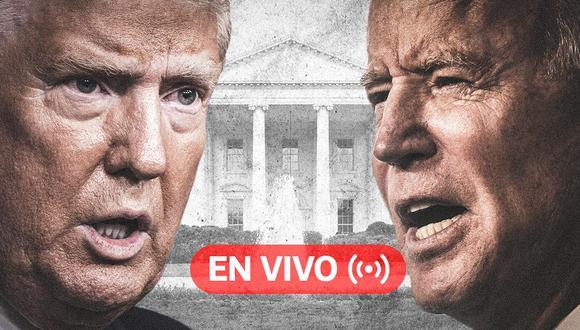 EN VIVO debate previo a Elecciones USA 2020 | ¿Cuándo, cómo y dónde serán los tres encuentros entre el presidente Trump y Joe Biden? En esta nota todo lo que tienes que saber. (Foto: Diseño El Comercio)