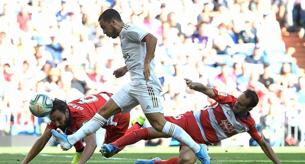 6.- Eden Hazard (Real Madrid), con 41.3 millones de dólares. (Foto: AFP)