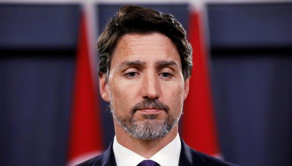 """Justin Trudeau calificó como """"importante paso"""" el reconocimiento por parte de Irán de que uno de sus misiles derribó el Boeing 737-800 de Ukraine International poco después de que despegara del aeropuerto de Teherán. (REUTERS/Blair Gable)."""