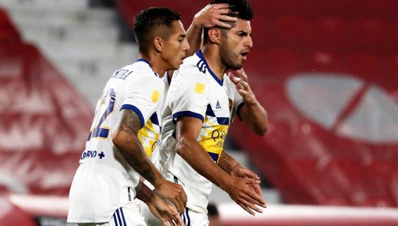 Boca Juniors logró sacar un empate ante Independiente en el estadio Libertadores de América por la fecha 7 de la Copa de la Liga Profesional de Argentina.