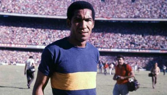 Julio Meléndez ganó tres títulos con Boca Juniors en los cinco años que estuvo en Argentina (1968-72).