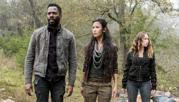 """""""Fear The Walking Dead"""" sorprendió a la audiencia con una nueva muerte. (Foto: AMC)"""