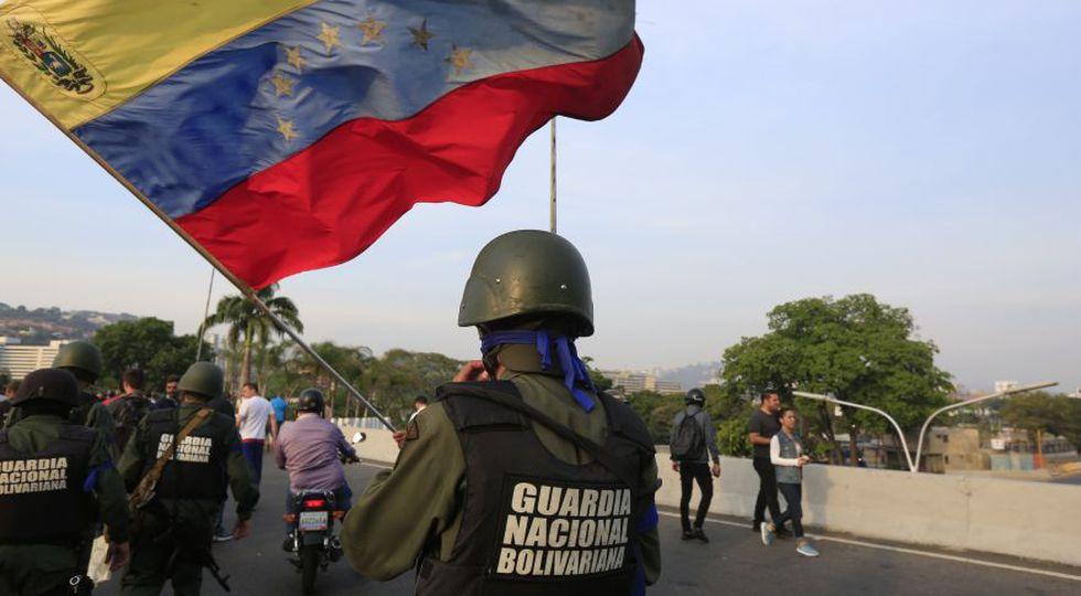 Venezuela: Juan Guaidó | Leopoldo López | El levantamiento militar contra Nicolás Maduro en fotos. (Rolly Reyna / El Comercio)