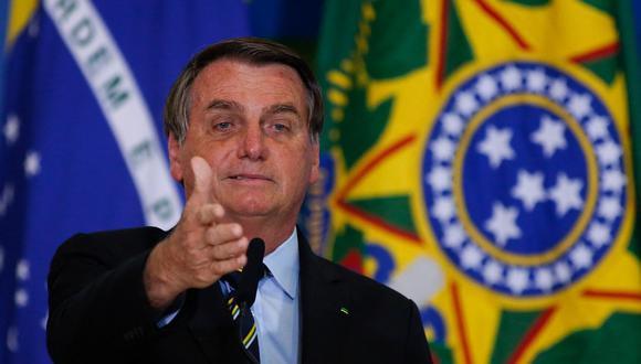 La gestión de Jair Bolsonaro frente a la pandemia de COVID-19 es objeto actualmente de una investigación en el Congreso. (Sergio Lima / AFP).