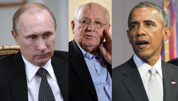 EE.UU. arrastra a Rusia a una guerra, afirma Gorbachov