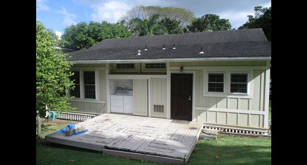 La casa tiene una entrada independiente para mayor privacidad de los huéspedes. (Foto: Realtor)