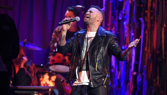 Nacho en los Latin American Music Awards 2018. (Foto: Agencias)